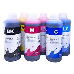 Чернила для Epson SureLab SL-D700, SL-D800 (минифотолаборатория, совм. T7821-T7826, T43U1-T43U6), водорастворимые InkTec E0010, комплект 6 цветов по 1 литру