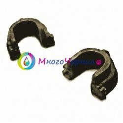 Подшиники (бушинги) резинового вала для HP LaserJet LJ P1505, M1522, Pro P1102, P1566, P1606, комплект 2 шт.