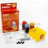 Заправка для Canon PIXMA iP4200, iP4500, iP5200, MP610, iP4300, MP600, MP500, MP800, iP5300, MP810, MP970, MP830, MP530, MX850, MP950, MP960, набор для заправки цветных картриджей CLI-8, InkTec BKI-9080C