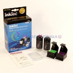 Заправка для HP DeskJet 3070a, 3070, HP Photosmart 5510, B110, 5520, 7510, B110b, 6510, B010b, B210b, 5515, B109, B109c, B209a, C310b, B209b, B110a, C410 , набор для заправки черного картриджа HP 178, HP 364, HP 564, InkTec HPI-7016D