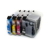 Картриджи для Brother DCP-J100, DCP-J105, MFC-J200 (LC529XLBK, LC525XLC, LC525XLM, LC525XLY), совместимые, комплект 4 цвета