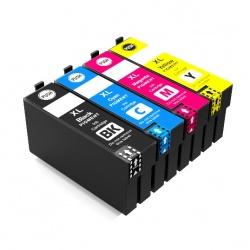 Картриджи для Epson SureColor SC-T3100, SC-T5100, SC-T3100N, SC-T5100N, SC-T3100M, SC-T5100M, совместимые, неоригинальные, увеличенного объема (совм T40D1-T40D4), комплект 4 цвета