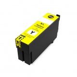 Картридж для Epson SureColor SC-T3100, SC-T5100, SC-T3100N, SC-T5100N, SC-T3100M, SC-T5100M (T40D4), совместимый, неоригинальный, жёлтый Yellow