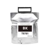 Контейнер с чернилами для Epson WorkForce Pro WF-R5190DTW, WF-R5690DTWF (совм. T8781, T8381 картридж Ink Supply Unit, чернильный пакет с чипом), совместимый, чёрный Black