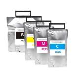Картриджи для Epson WorkForce Pro WF-R5190DTW, WF-R5690DTWF (совм. T8781-T8784, T8381-T8384), совместимые (чернильные пакеты с чипами), комплект 4 цвета