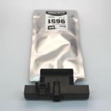 Контейнер с чернилами для Epson WorkForce Pro WF-M5799DWF, WF-M5299DW (совм. T9651 XL картридж Ink Supply Unit, чернильный пакет с чипом), совместимый / неоригинальный, чёрный Black