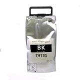 Контейнер с чернилами, картридж для Epson WorkForce Pro WF-C869RDTWF (RIPS), WF-C869RDTWFSW (совм. T9731 XL Ink Supply Unit, чернильный пакет с чипом), совместимый / неоригинальный, черный Black
