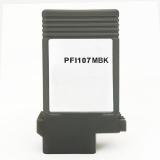 Картридж для Canon imagePROGRAF iPF780, iPF680, iPF785, iPF685, iPF770, iPF670, iPF670 MFP L24, iPF770 MFP L36 Matte Black, PFI-107MBK совместимый, 130 мл