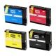 Комплект картриджей BPI-PGI2400 для Canon MAXIFY iB4040, iB4140, MB5040, MB5140, MB5340, MB5440, (совместимые с PGI-2400XLBK, PGI-2400XLM, PGI-2400XLC, PGI-2400XLY), набор 4 цвета