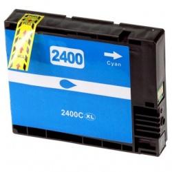 Картридж BPI-PGI2400XLC Cyan для Canon MAXIFY iB4040, iB4140, MB5040, MB5140, MB5340, MB5440, (совместимый с PGI-2400XLC) голубой (синий)