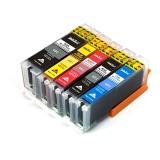 Картриджи для Canon PIXMA TS6150, TS6250, TS6350, TS9550, TS9551C, TS705, TR7550, TR8550 (PGI-580/CLI-581 XXL), совместимые, комплект 5 цветов