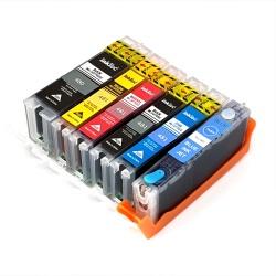 Картриджи для Canon PIXMA TS8150, TS8250, TS8350, TS9150 (PGI-580/CLI-581 XXL), совместимые, комплект 6 цветов
