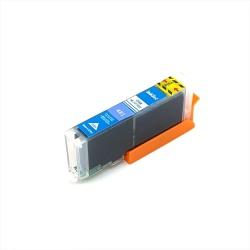 Картридж для Canon PIXMA TS6140, TS6240, TS8140, TS8240, TS9140, TS9540, TS9541C, TS704, TR7540, TR8540 (CLI-481C XXL), совместимый, голубой Cyan