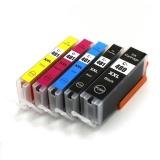Картриджи для Canon PIXMA TS6140, TS6240, TS6340, TS9540, TS9541C, TS704, TR7540, TR8540 (PGI-480/CLI-481 XXL), совместимые, комплект 5 цветов