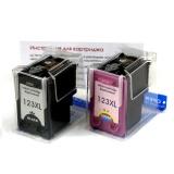 Комплект совместимых картриджей 123XL для HP DeskJet 2130, 2620, 3630, ENVY 4513, OfficeJet 4650, 5220 (F6V16AE, F6V18AE, F6V17AE, F6V19AE)