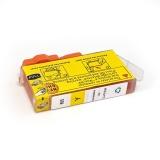 Картридж Yellow для HP Deskjet Ink Advantage 3525, 6525, 4625, 5525, 4615 (PL-CZ112AE (655)), совместимый, желтый