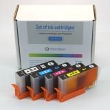 Картриджи для HP DeskJet 3070a, HP Photosmart 5510, B110, 7510, B110b, 6510, B010b, B210b, 5515, B109, B109c, B209a, 5520, B209b, B110a, C5380, совместимые 178XL, комплект 4 цвета