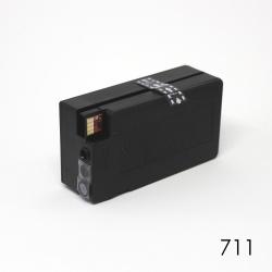 Картридж чёрный для HP Designjet T120, T125, T130, T520, T525, T530 (под HP 711, 711XL Black), неоригинальный
