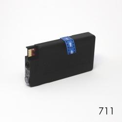 Картридж голубой для HP Designjet T120, T125, T130, T520, T525, T530 (под HP 711 Cyan), неоригинальный