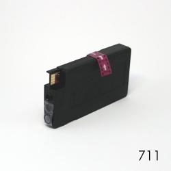 Картридж пурпурный для HP Designjet T120, T125, T130, T520, T525, T530 (под HP 711 Magenta), неоригинальный