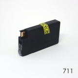 Картридж жёлтый для HP Designjet T120, T125, T130, T520, T525, T530 (под HP 711 Yellow), неоригинальный