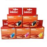 Комплект картриджей для Canon iP3600, MP550, MP540, iP4600, iP4700, MP640, MP630, MP560, MX870, MP620, MX860 5 штук, совместимые InkTec