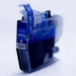 Совместимый картридж для Brother MFC-J3530DW, MFC-J3930DW, MFC-J2330DW (LC3617C), голубой Cyan, неоригинальный, одноразовый, без ограничений по дате выпуска принтера