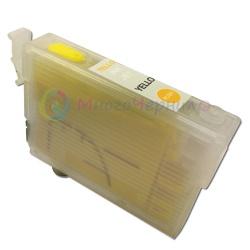 Картридж для Epson Expression XP-320, XP-420, XP-424, WorkForce WF-2760, WF-2750, WF-2630, WF-2650, WF-2660 (T220), совместимый, жёлтый