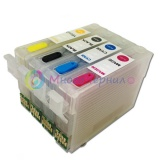 Картриджи для Epson Expression XP-320, XP-420, XP-424, WorkForce WF-2760, WF-2750, WF-2630, WF-2650, WF-2660 (T220), совместимые, комплект, 4 штуки