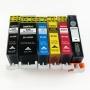 Картриджи для Canon PIXMA TS8040, MG7740, TS9040 (PGI-470 XL, CLI-471 XL), совместимые, комплект 6 цветов