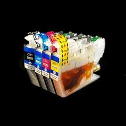 Совместимые картриджи для Brother MFC-J3530DW, MFC-J3930DW, MFC-J2330DW (LC3617), неоригинальные, одноразовые, без ограничений по дате выпуска принтера, комплект 4 цвета