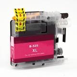 Картридж для Brother DCP-J100, DCP-J105, MFC-J200 пурпурный B-LC525XLM Magenta (совм. LC525XLM), с чернилами, неоригинальный