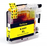 Картридж для Brother DCP-J100, DCP-J105, MFC-J200 желтый B-LC525XLY Yellow (совм. LC525XLY), с чернилами, неоригинальный