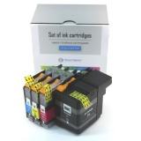 Картриджи для Brother MFC-J3520, MFC-J3720 (совм. LC569XLBK, LC565XLC, LC565XLM, LC565XLY), неоригинальные, комплект 4 цвета