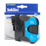 Картридж голубой для Brother DCP-J315W, MFC-J265W, DCP-J515W, DCP-J140W, MFC-J220, MFC-J410, MFC-J415W, DCP-J125, совместимый InkTec BCI-0985HC (LC39C, LC985C)