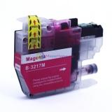 Совместимый картридж для Brother MFC-J5330DW, MFC-J5335DW, MFC-J5730DW, MFC-J5930DW, MFC-J6530DW, MFC-J6930DW, MFC-J6935DW (LC3217M), пурпурный Magenta, неоригинальный, одноразовый
