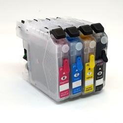 Картриджи для Brother MFC-J3520, MFC-J3720, MFC-J2310, MFC-J2510 (совм. LC563BK, LC565XLC, LC565XLM, LC565XLY), неоригинальные, комплект 4 цвета