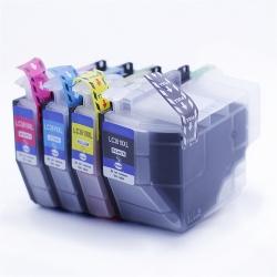 Совместимые картриджи для Brother MFC-J3530DW, MFC-J3930DW, MFC-J2330DW (LC3619XL), неоригинальные, одноразовые, комплект 4 цвета