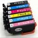 Картриджи для Epson Colorio EP-709A (совм. ITH-6CL), совместимые, одноразовые, комплект 6 цветов