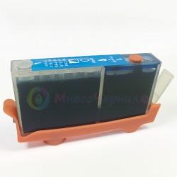 Картридж PL-CZ110AE (655) Cyan для HP Deskjet Ink Advantage 3525, 6525, 4625, 5525, 4615, совместимый, голубой
