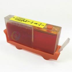 Картридж PL-CZ112AE (655) Yellow для HP Deskjet Ink Advantage 3525, 6525, 4625, 5525, 4615, совместимый, желтый