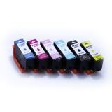 Картриджи для Epson Expression Photo XP-8500, XP-8505, XP-8600, XP-8605 (T3781-T3786 / T3791-T3796), совместимые, неоригинальные, комплект 6 цветов