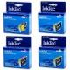 Комплект картриджей InkTec для Epson Stylus C86, CX6600, C84, CX6400, C64, CX3650, CX3600, CX4600, C66  (T0441-T0444, T0452-T454), 4 штуки, неоригинальные