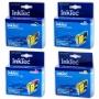 Комплект картриджей InkTec для Epson Stylus CX3500, C65, C63, C85, C83, CX4500, CX6300, CX6500 (T0461,T0472-T0474), 4 штуки, неоригинальные