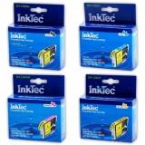 Комплект картриджей InkTec для Epson Stylus C67, C87, CX3700, CX4100, CX4700, CX7700 (T0631-T0634), 4 штуки, неоригинальные