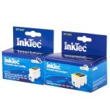 Комплект картриджей InkTec для Epson Stylus Photo 1290, 900, 1270, 1280 (T007, T009), 2 штуки, неоригинальные