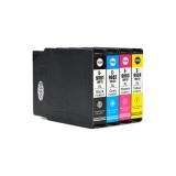Картриджи для Epson WorkForce Pro WF-6090DW, WF-6590DWF (совм T9081-T9084 / T9071-T9074), совместимые, комплект 4 цвета