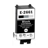 Чёрный картридж для Epson WorkForce WF-100W, WF-110W (совм. T2661 Black), совместимый, одноразовый
