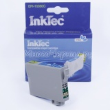 Картридж для Epson Stylus Photo P50, PX720WD, PX820FWD, PX660, RX585, PX650, PX700W, R285, RX560, R360, R265, RX685, PX710W, PX800FW, PX810FW совместимый голубой InkTec EPI-10080C (T0802) Cyan