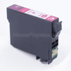Совместимый картридж для Epson WorkForce Pro WF-3720DWF, WF-3725DWF (T3473 под регион Европа), пурпурный Magenta, неоригинальный
